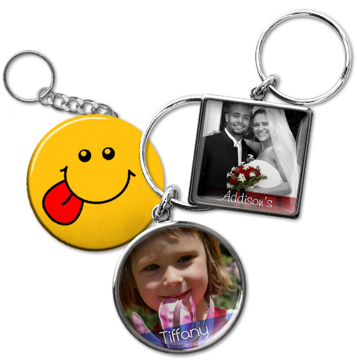 custom keychains picture