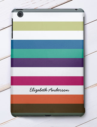 Striped iPad Cases