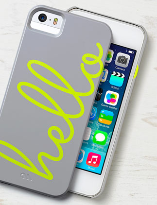 Browse our iPhone 5 Case Collection and personalise by colour, design or style.