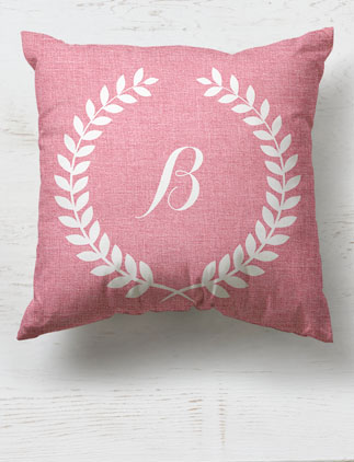 Elegant <br />Monogram Pillows