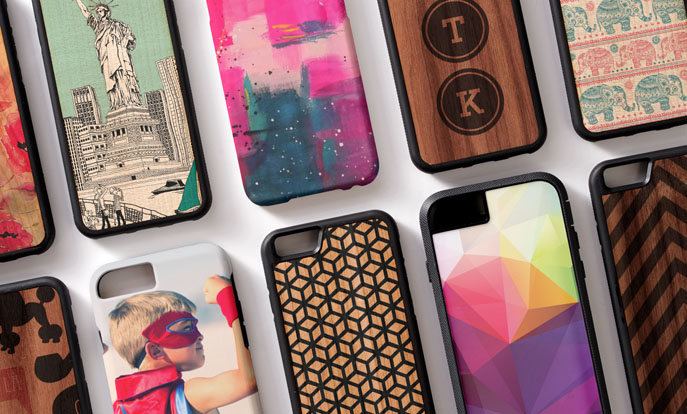 Create your very own iPhone 6 Cases  Collection and personalise by colour, design or style.